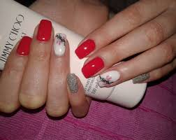 red nails design images nail art designs