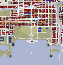 Grant Park Chicago Map by Greater Loop