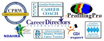 logos for Career Directors International  Profiling Pro  CDI Expert  Professional Association of Resume