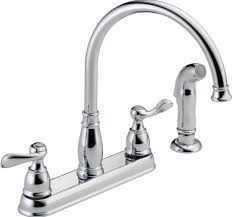 Kitchen Faucets Best Kitchen Design Best Chromed Kitchen Faucets With Sprayer And