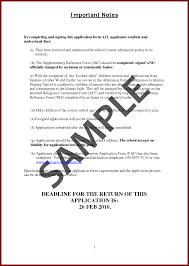 Sponsor Letter For Study Abroad   Sample Job Application Letter