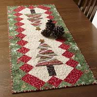 Quilted Table Runners by Table Tinsel Free Table Runner Quilt Pattern