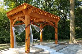 Custom Gazebo Kits by Pergola Kits Western Timber Frame