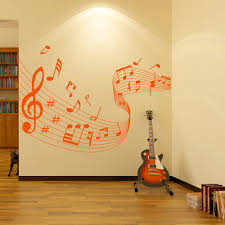 music wall stickers iconwallstickers co uk musical notes score wavy musical notes instruments wall stickers music decals
