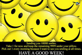 Have A Good Week!