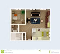 apartment floor plan stock images image 14152554