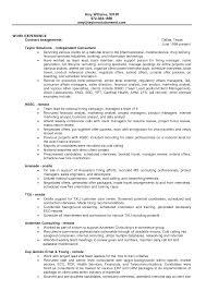 Recruiter Consultant Resume Sample Resume Finance Resume Cv Cover Letter