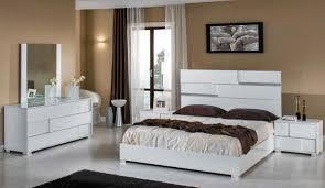White Bedroom Furniture Design Modrest Ancona Italian Modern White Bedroom Set
