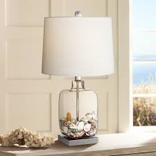 Amazon Table Lamps Square Glass 21 3 4
