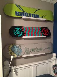 snowboard display hanging snowboards burton k2 ikea ribba snowboard display hanging snowboards burton k2 ikea ribba shelves boys bedroom