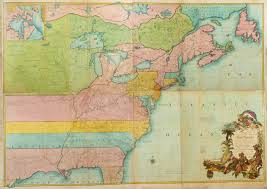 Map Of Northeast United States by Maps And The Beginnings Of Colonial North America Digital
