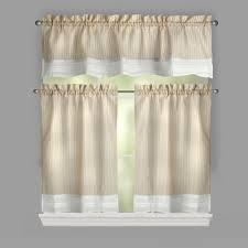 rosalie crochet trim window tier u0026 valance set christmas tree