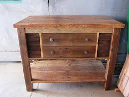 Reclaimed Kitchen Islands Rustic Reclaimed Wood Kitchen Island With Stools Marissa Kay