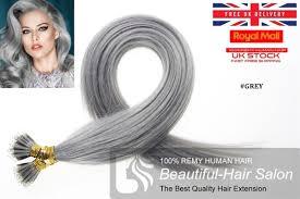 Grey Human Hair Extensions by Discount China Wholesale 100s 16 22 Nano Hair 1g S Human Hair