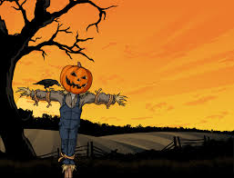 halloween pumpkin wallpapers scarecrows and pumpkins wallpaper wallpapersafari
