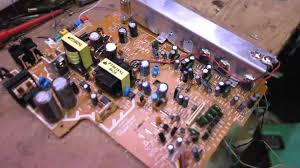 home theater circuit diagram experimenting with cheap 5 1 dvd home theatre amp circuit youtube