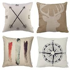 cheap decorative pillows for sofa shop amazon com pillow covers