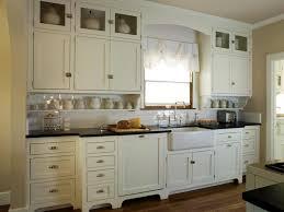 Cottage Kitchen Backsplash Ideas Shabby Chic Kitchen Cabinets Zamp Co