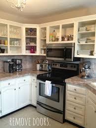 replacing kitchen cabinet doors before and after edgarpoe net