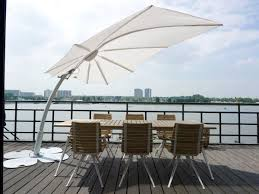 Offset Patio Umbrella by Modern 360 Umbrella Bloom Luxury Coutrre Outdoor