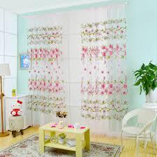 online shop fashion transparent tulle curtains window treatments