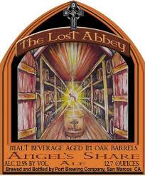 what we're drinking: 363. The Lost Abbey Angel's Share 2010