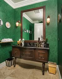 Wallpaper In Bathroom Ideas 20 Gorgeous Wallpaper Ideas For Your Powder Room