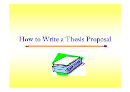 Thesis proposal powerpoint presentation sample History essay introduction examples   FC