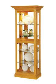 Oak Curio Cabinet Curio Cabinet Pid 2081 Amish Shaker Picture Frame Curio Cabinets