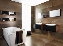 bathroom ceramic vs porcelain tile as retro imitation marble