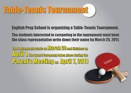 Table Tennis Tournament by Table Tennis Tournament Zaman University Cambodia Zamanu