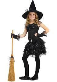 halloween kid images kids witch glitter costume escapade uk luna the witch costume for