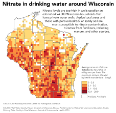 Map Of Wisconsin And Illinois by Nitrate In Water Widespread Current Rules No Match For It