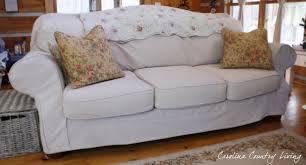 Carolina Leather Sofa by Carolina Country Living Drop Cloth Sofa Slipcover