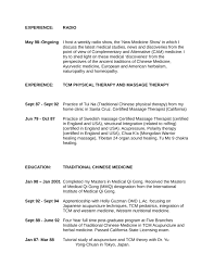 Physical Therapy Resume Sample by Executive Massage Therapist Resume Template Page 5