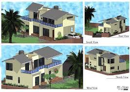 gorgeous shine 3 bhk house design plan