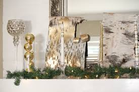 home design charming christmas mantel decor with marble flooring