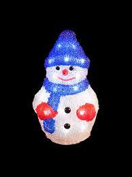 Christmas Yard Decoration Images Light Up Acrylic Santa Snowman Reindeer Christmas Outdoor Indoor