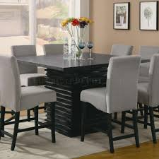Counter Height Dining Room Tables by Stanton Counter Height Dining Table In Black Coaster W Options