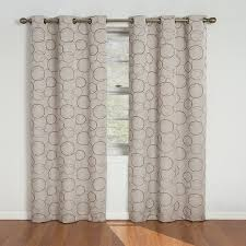 108 Inch Long Blackout Curtains by Amazon Com Eclipse Meridian 84 Inch Blackout Window Curtain Panel
