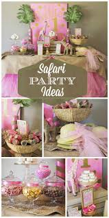 Background Decoration For Birthday Party At Home Best 25 Safari Party Decorations Ideas On Pinterest Jungle