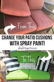 Paint Patio Umbrella by Yes I Actually Spray Painted My Patio Cushions Orc Week 5