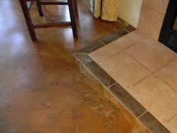 Laminate Flooring No Transitions Tile To Laminate Transition On Concrete Floor Decoration