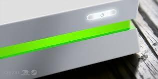 barre lumineuse de la Steam Machine d'iBuyPower