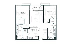 2 Bedroom 1 Bath Floor Plans Studio 1 U0026 2 Bedroom Floorplans At Desmond At Wilshire Apartments