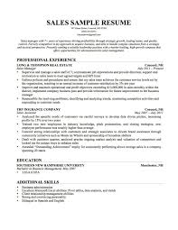 sales resume examples objective sales resume by lauren example       sales manager resume