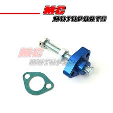 blue cnc manual cam chain tensioner for honda cbr 600 f4 f4i 99 00