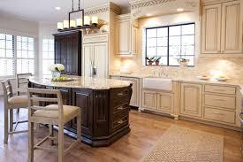 contemporary kitchen backsplash cream cabinets a neutral lighter