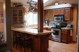 Remodel Small Kitchen Comfortable Before And After Kitchen Remodels Wood Before And