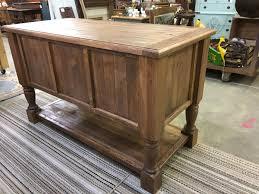 Reclaimed Kitchen Islands Kitchen Island Turned Leg Cabinet Buffet Sideboard